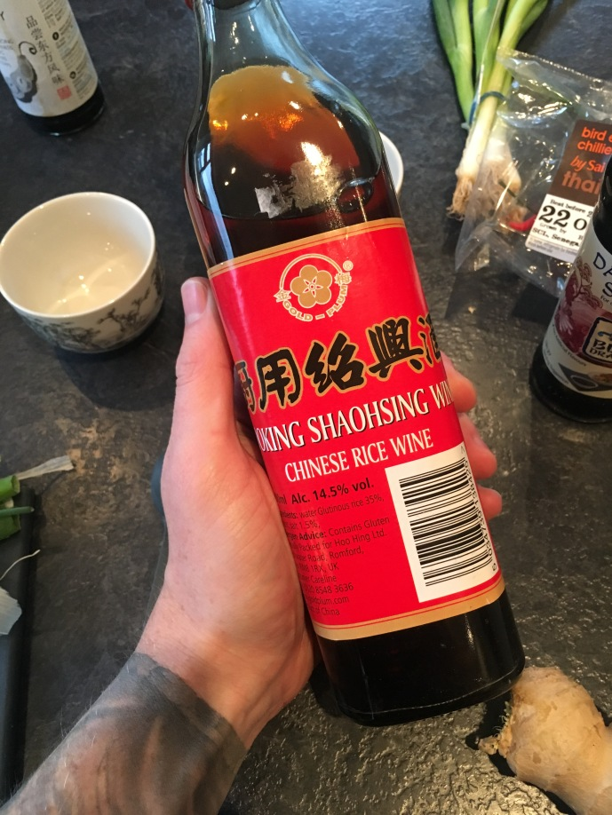 Shaohsing rice wine