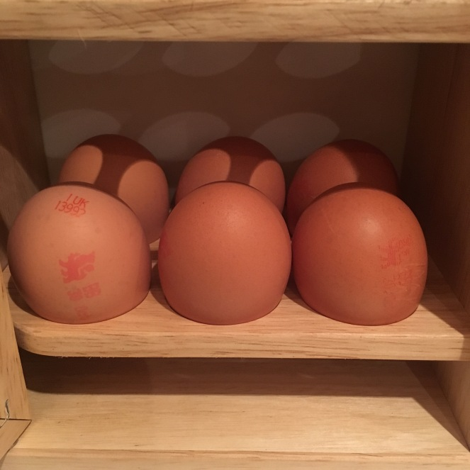 Free range, fresh eggs