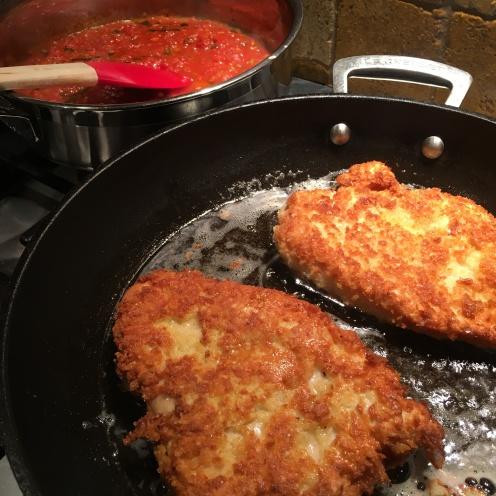 Chicken crisping
