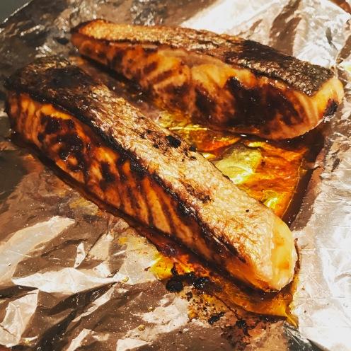 Charred Salmon